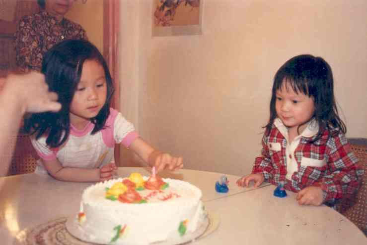 Evita's first birthday cake
